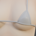Bikini, hair & table