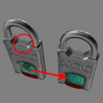 fingerprint padlock texture improvement