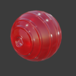 gag ball texture but its a pet toy!